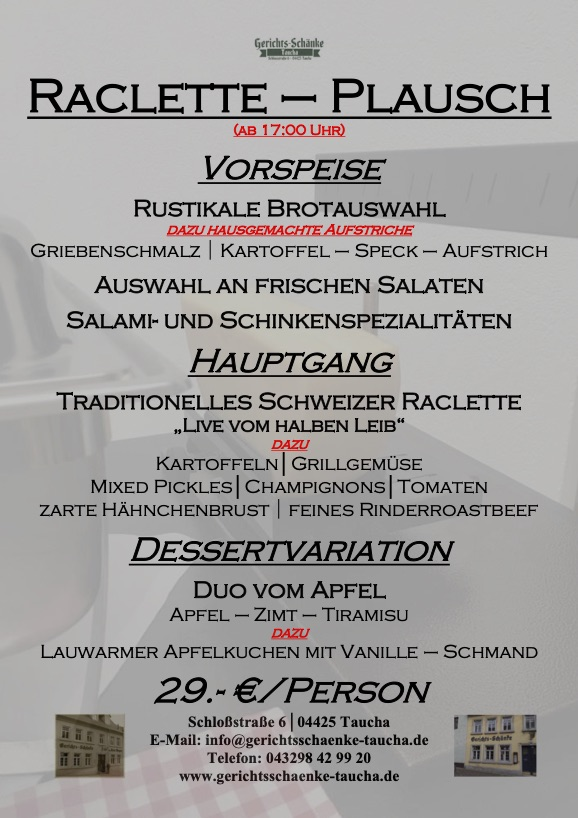 12.10.2021 Racletteplausch